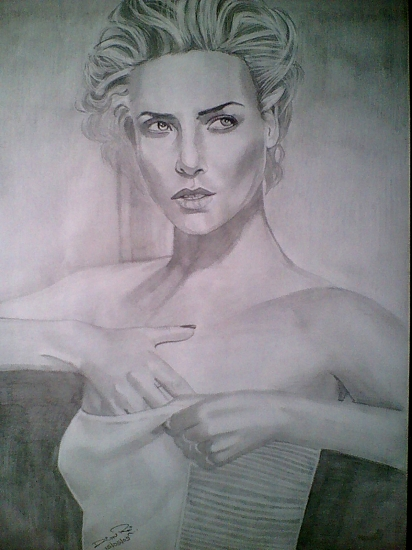Charlize Theron by Diwas